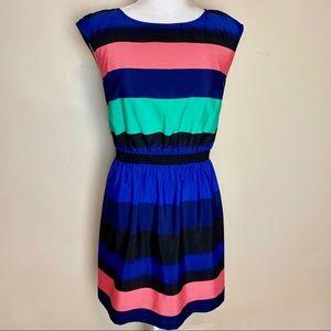 Ann Taylor LOFT Color Block Dress